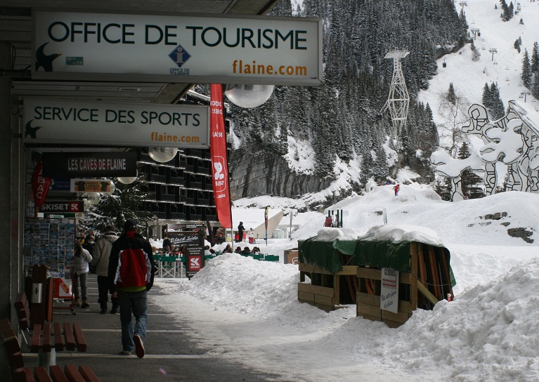 office de tourisme flaine